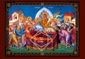 ΕΙΚΟΝΑ ΞΥΛΙΝΗ ΚΟΙΜΗΣΗ ΤΗΣ ΘΕΟΤΟΚΟΥ