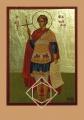 ΕΙΚΟΝΑ ΞΥΛΙΝΗ ΧΡΥΣΗ ΑΓΙΟΣ ΦΑΝΟΥΡΙΟΣ